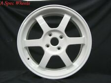 15x7 Rota GRID 4x100 +38 White Wheel (1)