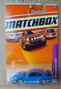 2010 Matchbox - Porsche 911 GT3 [BLUE] VHTF NEAR MINT *12 CARS POSTED FOR $10*