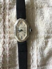 Ladies Vintage Art Deco Tavannes Wrist Watch - Sapphire Crown - *Needs service*