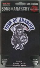 The Sons of Anarchy Reaper Patch Logo Beer Huggie Can Cooler/Coozie NEW UNUSED
