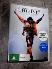 Michael Jackson's - This Is It (DVD, Region 4) H2