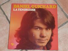 """VINYLE 33 TOURS DANIEL GUICHARD """"LA TENDRESSE"""" BARCLAY 80 486, TB ÉTAT"""