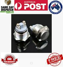 Momentary switch ON OFF Horn Switch Start button Waterproof Metal 16mm