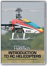 Introduction To Radio Controlled Helicopter Training On 3 dvd's