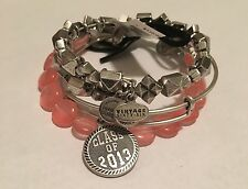 "ALEX AND ANI ""CLASS OF 2013, STUDSTRUCK, COTON CANDY SUGAR RASH"" SET IN RS! NWT!"