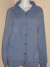 NWT ROXY JACKET BUTTON UP SWEATER COAT COLLAR SOFT AGED GRUNGE XL $65