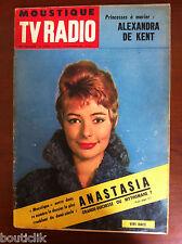 Tv Radio MOUSTIQUE du 8/11/1959; Anastasia/ Alexandra De Kent/ Van Cliburn