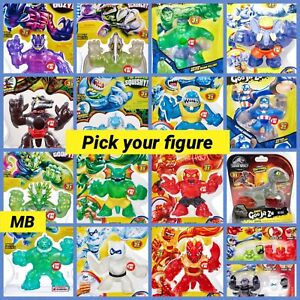 Youtube Series Heroes of Goo Jit Zu Action Figures Marvel Dino NEW Free Shipping