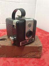 Vintage 1950's Kodak Brownie Hawkeye Flash Model Black Box 620 Film Camera