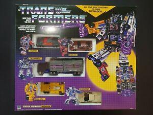 HASBO Transfomers G1 Menasor Part Stunticon DEAD END Action Figure Hobbies Robot