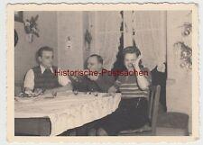 (F11219) Orig. Foto Familie Bager Weihnachten zu Hause 1941, Wohnung in Köln, wi