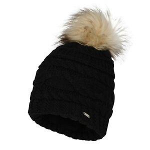 Dare2B RADIANCE Ski and winter beanie hat. Black