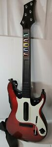 Playstation 3 Activision Red Guitar Hero 5 Wireless PS3  *Read Description*