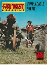 Far West Magazine N° 11/1966 - L'Implacable Shérif, Five Bold Women, Jeff Morrow