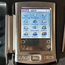 New listing Palm Tungsten E2 Silver Handheld Pda Pilot Digital Organizer w/ Stylus & Cover