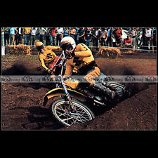 #CP50 SYLVAIN GEBOERS & JOËL ROBERT / SUZUKI Moto Cross Carte Postale Postcard