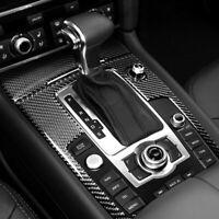 Carbon Mittelkonsole Rahmen Blende Schutz Passend für Audi Q7 4L