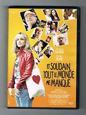 ET SOUDAIN TOUT LE MONDE ME MANQUE - MÉLANIE LAURENT - 2010 - DVD COMME NEUF