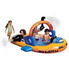 Banzai Aqua Explorer Submarine Pool Inflatable Kids Swimming Water Sprinkler New