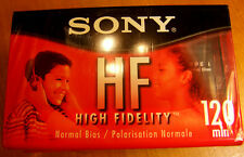 Sony HF cassette tapes NOS blanks 90 min and 120 min