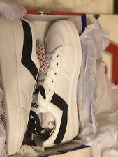 PONY Vintage Slamdunk Lo Core Shoes sz 9 White and black Low Superstar 80's