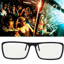 Type 3D Glasses 0.22mm Clip-On Circular Passive Polarized For TV Real 3D Cinema