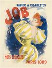 """1896 original lithograph """"JOB"""" by Jules Chéret, Maîtres de l'Affiche Plate 1"""