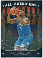 2019-20 Panini Prizm Draft Picks #100 Zion Williamson AA RC