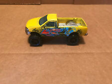 Hot Wheels 1997 Ford f-150 Yellow
