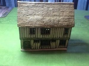 Ceramic House Of 15 th Century Timber Framed House