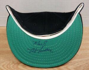 Mark McLemore Texas Rangers Autographed New Era Hat w/COA 102819DBT3