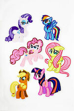 My Little Pony hotchpotch Iron on Patches Embroidered Badge Applique patch 6 pcs