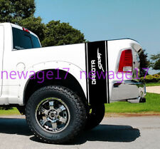 Dodge Dakota Sport Side Bed Stripes Truck Decals  Stickers Vynil Car Graphics