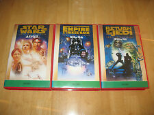 '97 Star Wars Trilogy: Special Edition on VHS, Japanese Version (ANH, ESB, ROTJ)