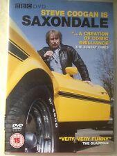 BBC SAXONDALE DVD RARE STEVE COOGAN COMEDY 2 DISC