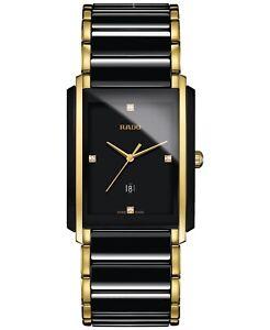 Rado Integral Diamond Two Tone Ceramic Stainless Steel Men's Watch R20204712