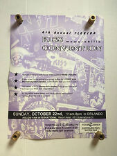 Kiss 1995 Vinnie Vincent Florida Kiss Convention Poster