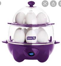 Dash Deluxe Rapid Egg Cooker: Electric, 12 Eggs 500 Watts Grape Color