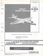 B-57A Canberra flight Manual Air Force Manual Pilot's Handbook (CD version)