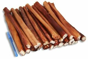 THICK BULLY STICKS Odor Free Natural dogChews Treat USDA & FDA approved
