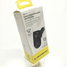 Scosche Universal Hands Free Car Kit - FMFREQ - Digital FM Transmitter - Black!