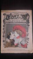 Rivista Jeans Che Rit N° 364 1908 Giornale Illustre che Appaiono Il Venerdì ABE