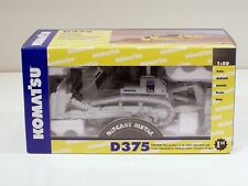 "Komatsu D375A Dozer w/ Ripper - ""WHITE"" - 1/50 - First Gear #59-0218 - 400 MADE"