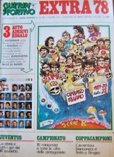 GUERIN SPORTIVO EXTRA 1978=RIEPILOGO STAGIONE 1977/78=JUVENTUS=COPPA CAMPIONI