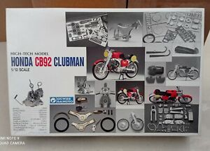 1959 Honda CB92 Clubman High Tech 1st Edition Metal Parts Gunze Sangyo 1/12