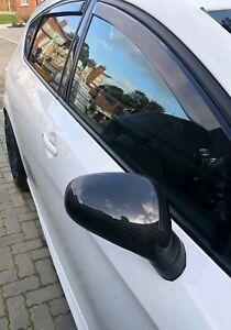 Seat Leon MK2 2006-10 Carbon Fibre Wing Mirror Covers CUPRA FR Mirrors