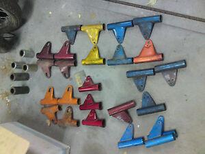 YAMAHA head light mounting bracket, used. Many models -60 And 70's