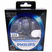 H4 Philips ColorVision Blue Styling mit Licht 60% Weißlicht 12342CVPB DUO 2 St.