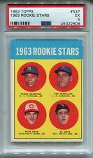 1963 Topps Baseball #537 Pete Rose Rookie Card RC PSA 5