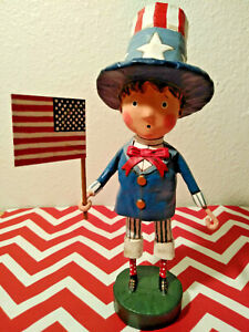 """Lori Mitchell's """"YANKEE DOODLE BOY"""" NEW 2021 Patriotic Series Collectible"""